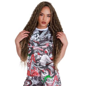 Camiseta Feminina Grau Metralha Cartoon