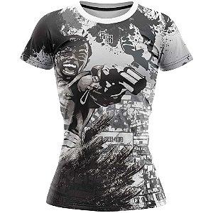 Camiseta Feminina Dadinho Cidade de Deus