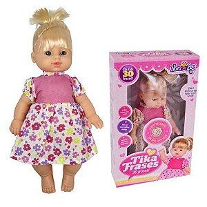 Boneca Nova Toys Tika Frases