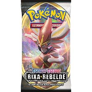 Booster Pokémon Copag Espada e Escudo 2 Rixa Reb