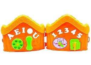 Brinquedo BS Toys Casinha Didática ABC