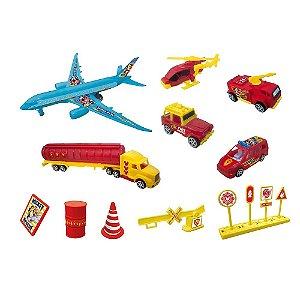 Brinquedos Etitoys Kit Avião Do Mickey