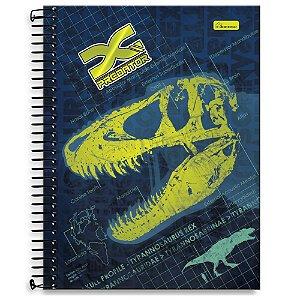 Caderno Universitário 10m 200F Cadersil X-Predator