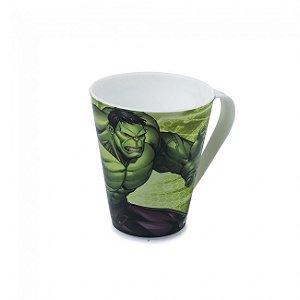 Caneca Plástica Plasútil Hulk Avengers 360ml Br