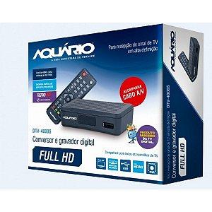 Conversor Gravador de TV Digital Aquário DTV-4000