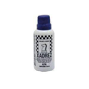 Corante Líquido Xadrez 50ml Azul