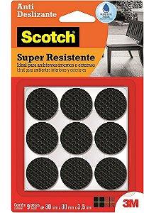 Feltro Antideslizante 3M Scotch Redondo 30mm