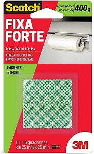 Fita Dupla Fc Espuma 3M Scotch 25mm 16un Fx Forte