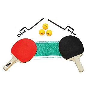 Jogo Tênis de Mesa Belfix Com Bolinha e Rede