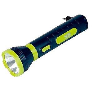 Lanterna Recarregavel Mor Power Led Bivolt