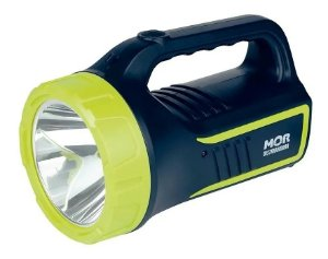 Lanterna Recarregável Mor Power Led Holofote