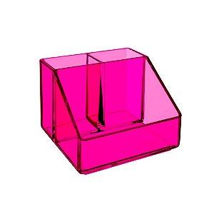 Porta CosméticosCoza Beauté 3 Div Transparente