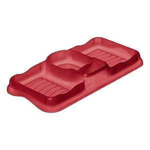 Porta Detergente e Esponja Sanremo Plástico