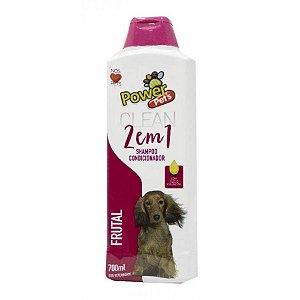 Shampoo/Condic Filhote Power Pets 700ml  Frutal
