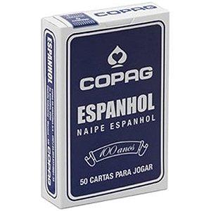 Baralho Espanhol Copag 50 Cartas Vermelho/Azul