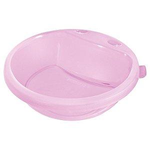 Prato Fundo Infantil de Plástico 450ml Cor Rosa - Sanremo