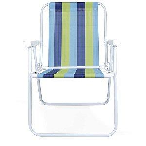 Cadeira Alta Mor em Aço