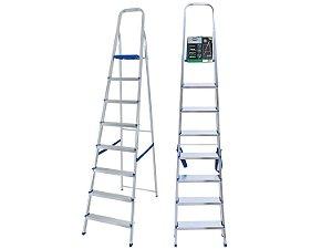 Escada de Alumínio Mor com 8 degraus