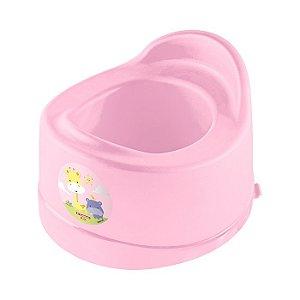 Penico Plástico Infantil Rosa Capacidade 1L - Sanremo