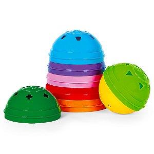 Bolas de Montar Coloridas Didáticas - Poliplac