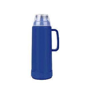 Garrafa Térmica Mor Use Flip Azul 1.0L