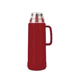 Garrafa Térmica Mor Use Flip Vermelha 1.0L