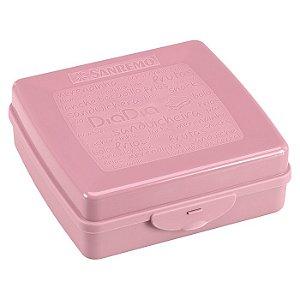 Sanduicheira Plástica Rosa- Sanremo