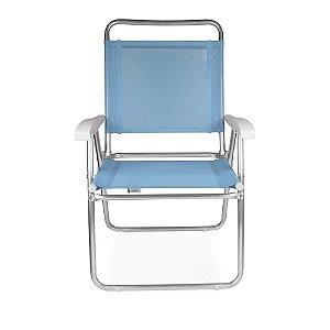 Cadeira Alta Master Plus  Mor Fashion de Alumínio