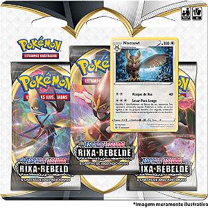 Cartas Pokémon Copag Espada e Escudo Rixa Rebelde