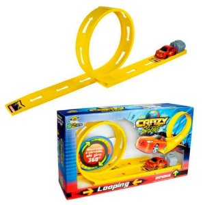 Brinquedo BS Toys Pista Looping Crazy Streets