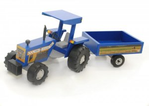 Trator Alf Brinquedos Com Reboque - 520