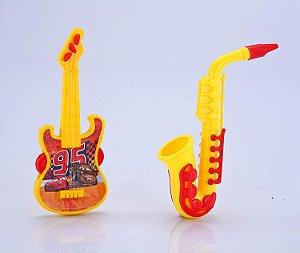 Brinquedos Etitoys Kit Guitarra e Saxofone Carros