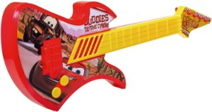 Guitarra Plástica Etitoys C/Cordas Carro