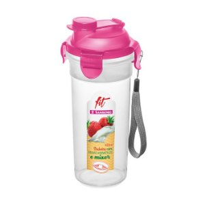 Shakeira 400ml Sanremo Fit Com Travas Rosa