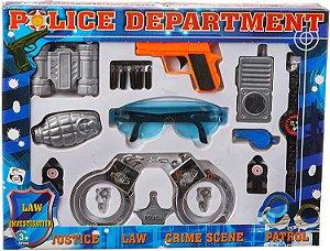Brinquedo Pica Pau Kit Police Departament