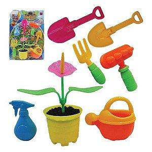 Brinquedo Pica Pau Kit Jardinagem