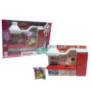 Cozinha de Brinquedo Lua de Cristal Super Girl