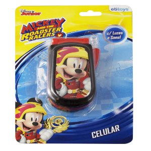 Celular Infantil Etitoys do Mickey
