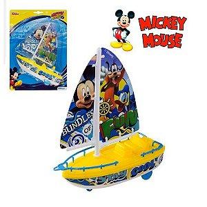 Barco à Vela Infantil Etitoys do Mickey