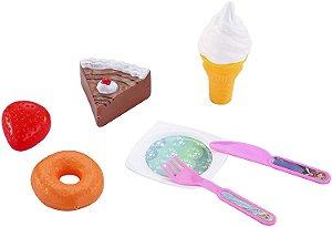 Brinquedos Etitoys Kit Comidinha da Frozen