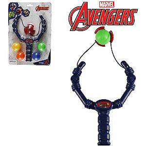 Estilingue Infantil Etitoys Avengers C/Bolinhas