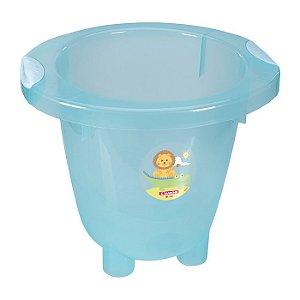 Ofuro Infantil de Plástico Sanremo Azul 18L
