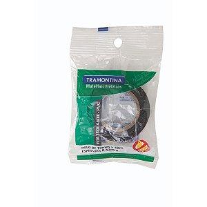 Fita Isolante Tramontina 0,13x0,19mm 10m Pt