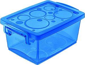 Organizador Ordene c/Alça 400ml Azul