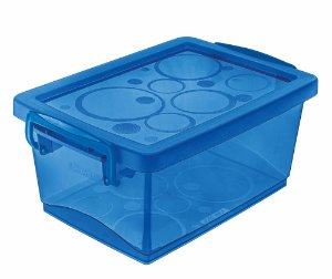 Organizador c/Alça 1,5L Azul Ordene