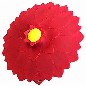 Tampa Anti Transbordamento Wincy de Silicone Formato de Flor