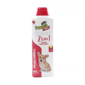 Shampoo/Condic Filhote Power Pets 700ml Mrgo/Amend