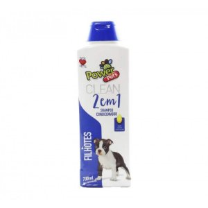 Shampoo/Condic Filhote Power Pets 700ml