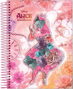 Caderno Universitário 10m 200f Cd Jandaia Alice