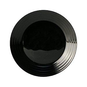 Prato Sobremesa Vidro Luminarc Harena Black 19cm